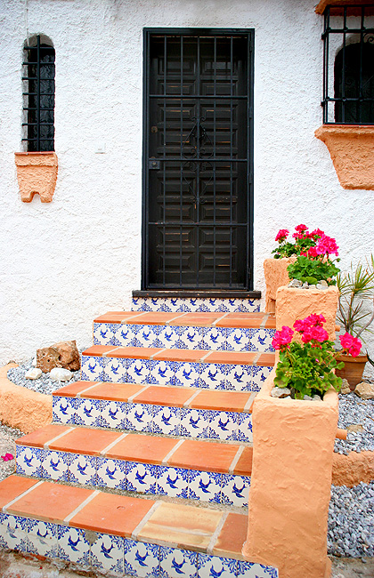 Spanish doorway