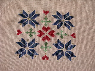 Ornament Club Pattern #5 at Stitching the Night Away