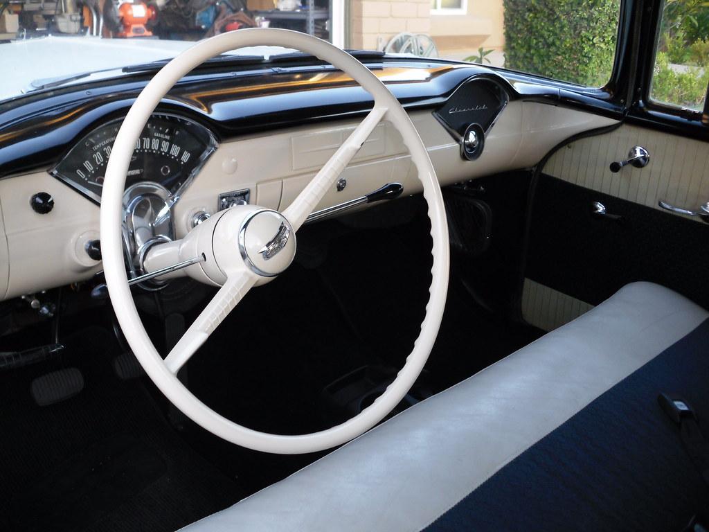 56 Chevy 150 Interior Paint Trifive Com 1955 Chevy