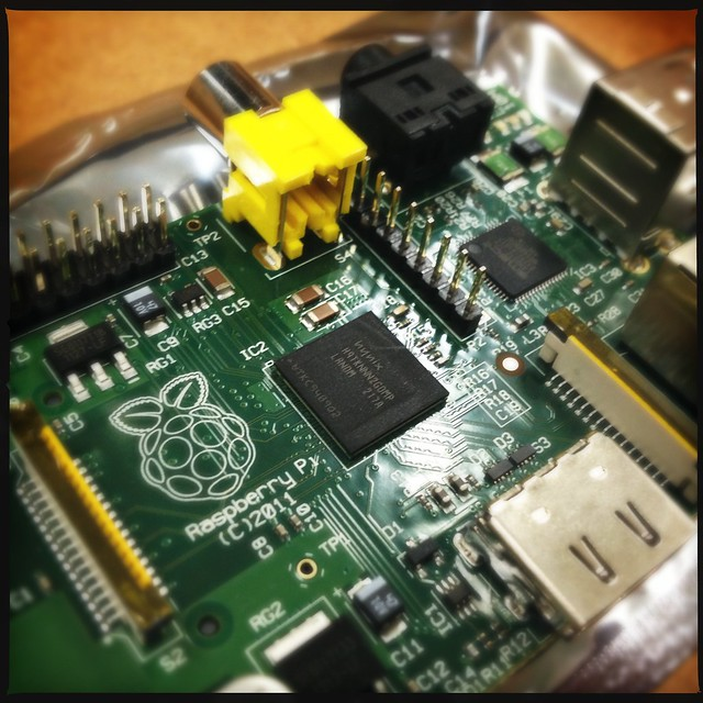 Just received my 2nd @raspberrypi - surprised both came (from different suppliers) in the same week