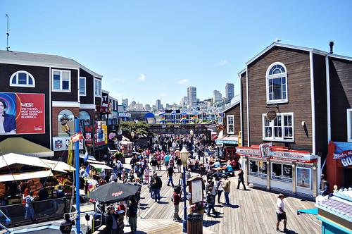 View Inland from Pier 39 ~ San Francisco, CA