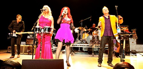 B-52's (Keith Strickland, Cindy Wilson, Kate Pierson, Fred Schneider)