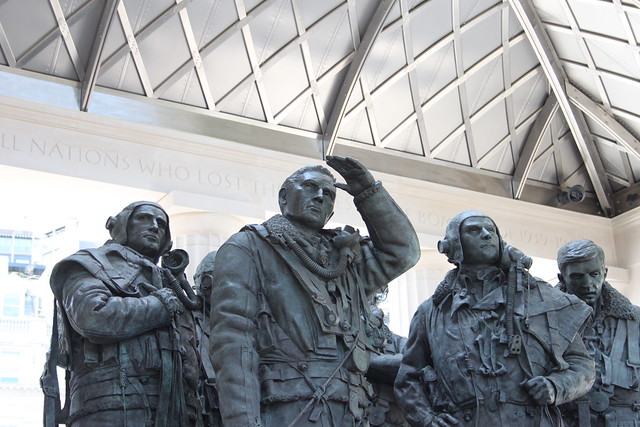 Bomber Command Memorial Looking to the Skies