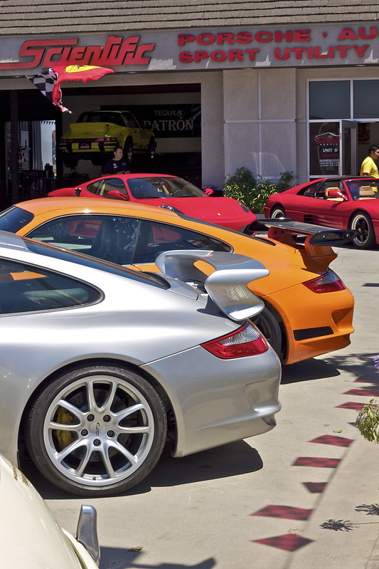 Porsche 997 GT3 and GT3RS