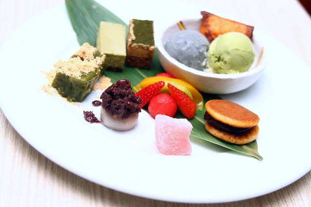Shimbashi Soba: Shimbashi Special Dessert Set