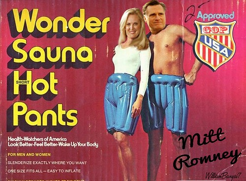 WONDER SAUNA HOT PANTS by Colonel Flick