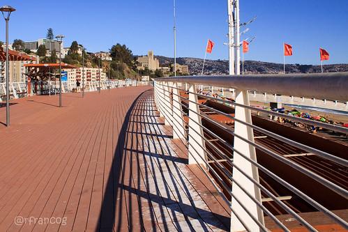 Caleta Portales en Valparaíso.