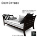 The Loft Diem Daybed Black