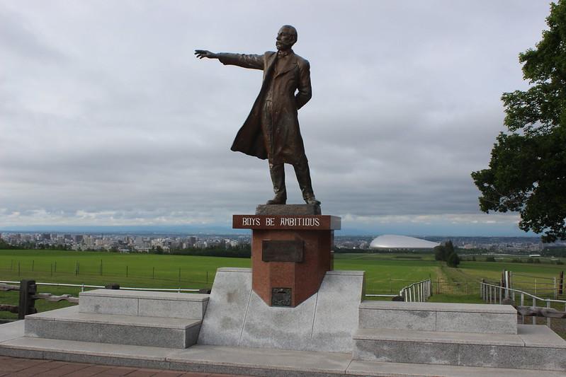 羊ケ丘展望台のクラーク像