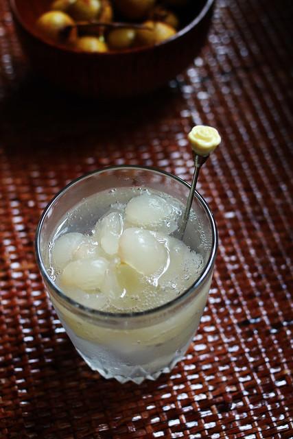 Longan Soda Drink