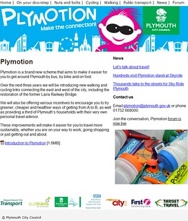 Plymouth City Council   Plymotion