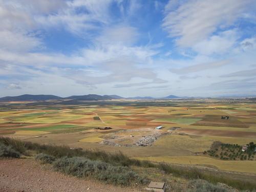 コンスエグラ 風車から見た風景 by Poran111