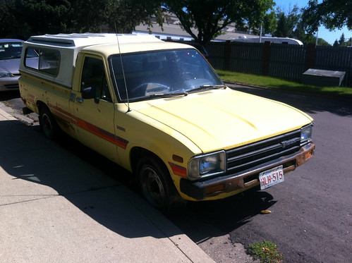 I bought the Pizza Planet truck – 1982 Toyota SR5 pickup ...