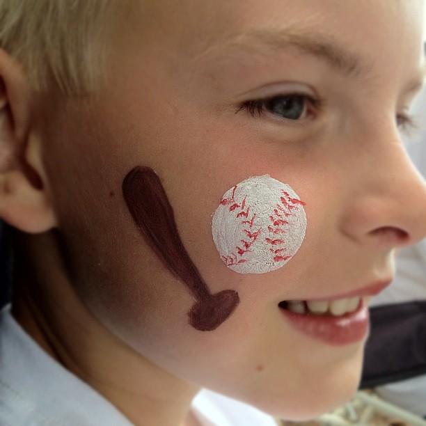 Sports Face Paint