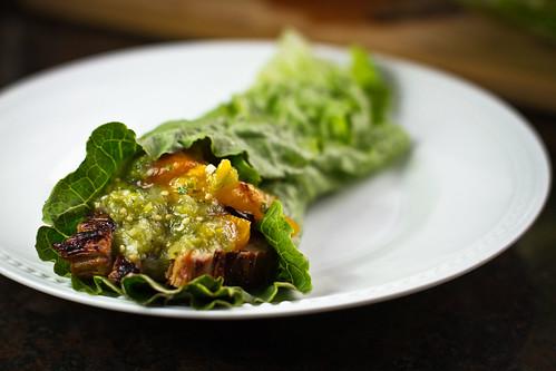 Lettuce Fajita Wrap