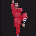 Sun, 06/11/2011 - 09:13 - Shifu Kanishka practising 9 Section wihp Chain Shaolin Kung Fu India