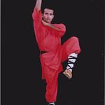 Sun, 06/11/2011 - 09:13 - Shifu Kanishka practising 9 Section wihp Chain Shaolin Kung Fu India