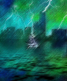 Ghost Ship in the Storm