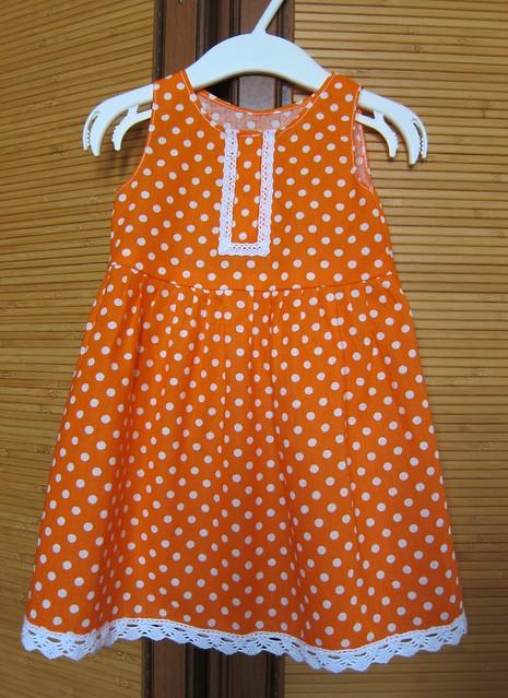 Летнее ситцевое платье своими руками