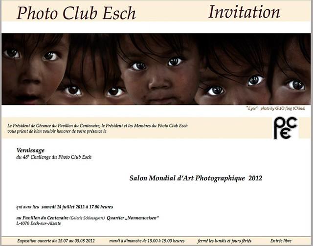 Salon Mondial d' Art Photographique 2012, Luxembourg