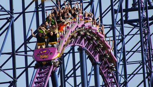 Bizarro Little Hill, Six Flags, Springfield