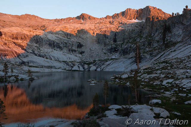 Alpenglow Above Pear Lake
