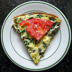 breakfast, vegetable, frittata, baked goods, food, dish, cuisine, quiche,