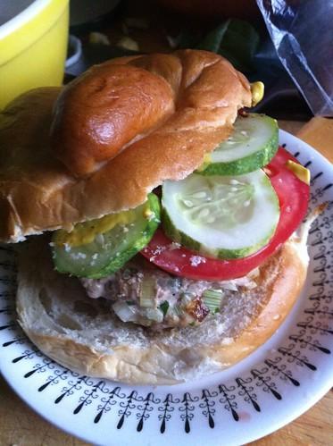 Week 5 burger