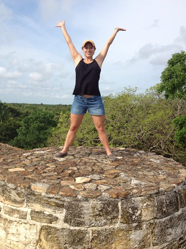 Altun Ha top of the world