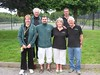 Nottingham City PC team that competed in round one of the Sherwood Triples tournament