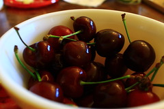 plant(0.0), olive(0.0), cherry(1.0), produce(1.0), fruit(1.0), food(1.0),
