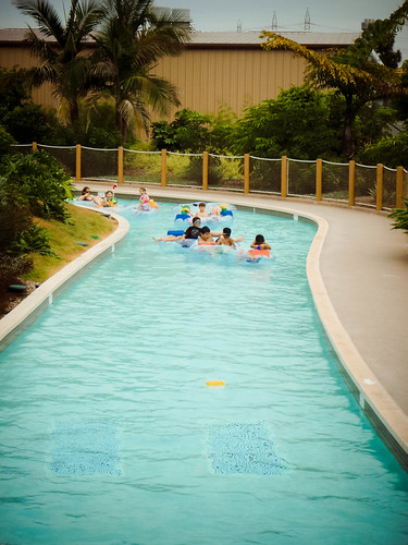 Lazy river at Legoland
