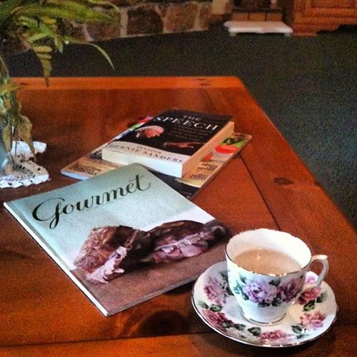 Darjeeling tea and Downton Abbey