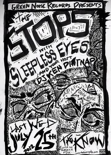 7/25/12 TheStops/SleeplessEyes