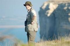 Canadian Contingent on Portlands cliffs