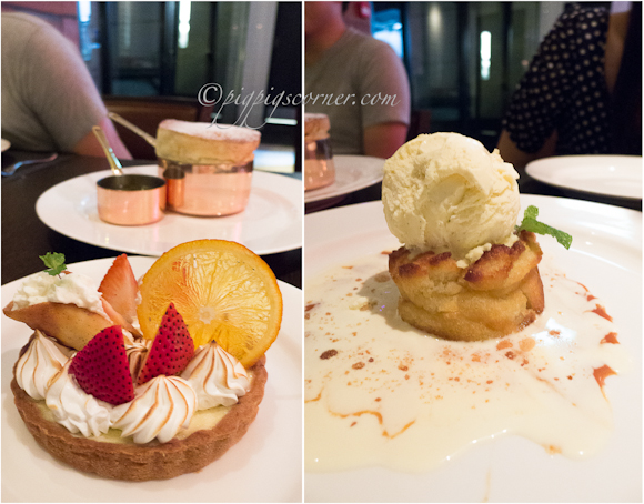 Wooloomooloo Steakhouse desserts