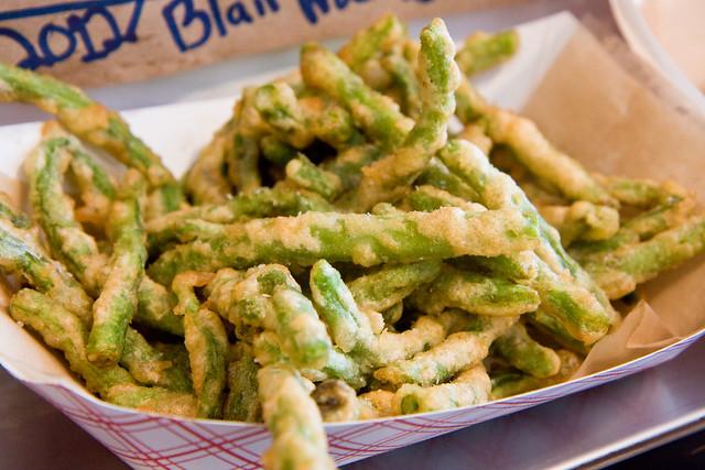 Green bean fries, Sticky's Finger Joint