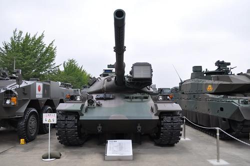 Type-74 Tank (74式戦車)