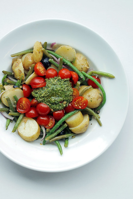 Green Beans, Potatoes and Tomatoes