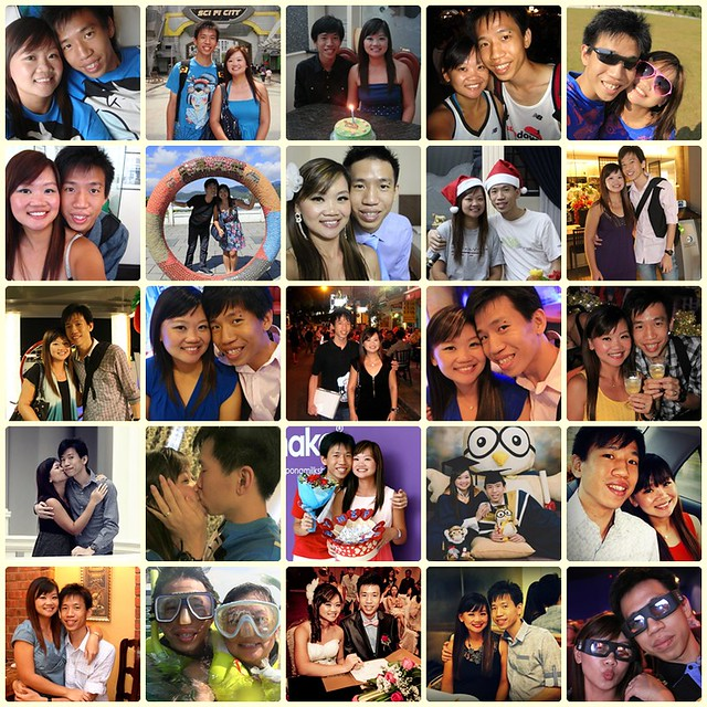 2nd Year Anniversary Photo Collage