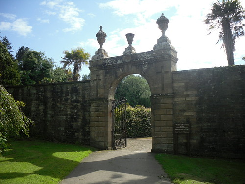 Culzean Castle walled garden gate