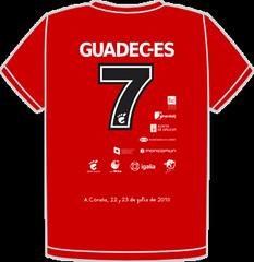 GUADEC-ES 2010 Denmark T-Shirt Back