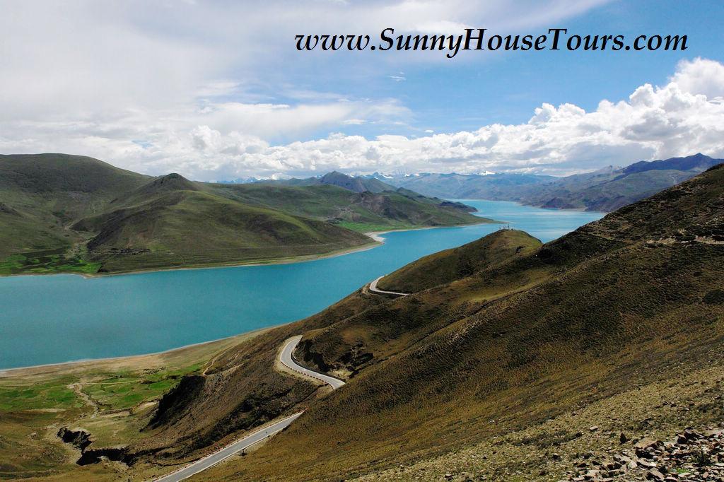 [我的西藏之旅] 羊卓雍措的美麗邂逅