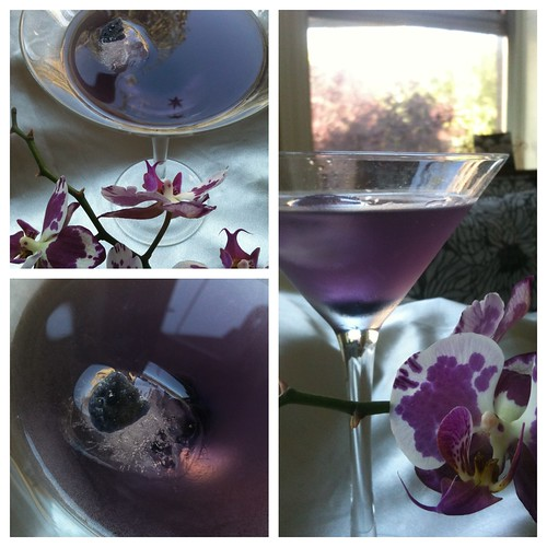 Midnight Violet Cocktail