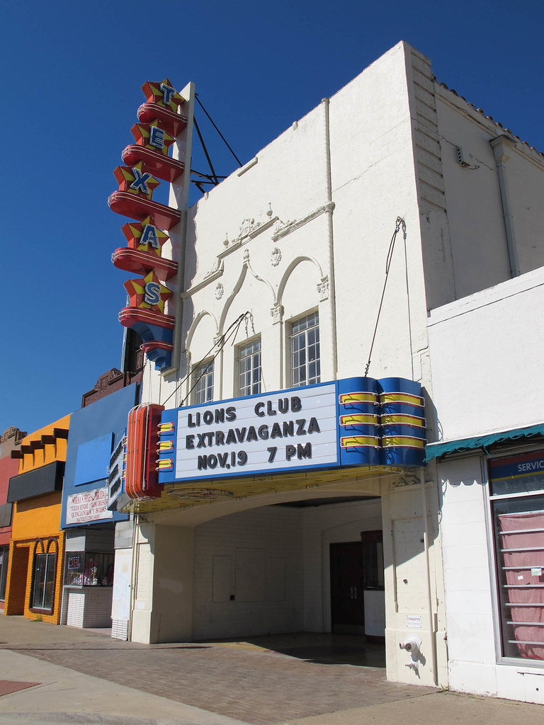 Texas Theatre, hiding place of Lee Harvey Oswald