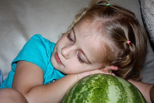 Autumns-head-on-melon
