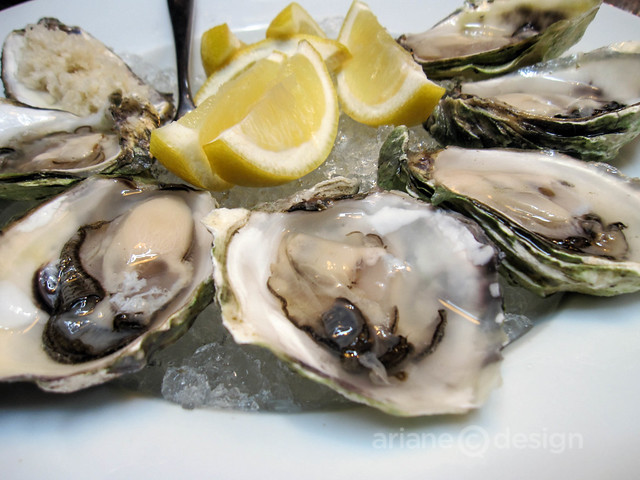 West coast Joyce Point oysters