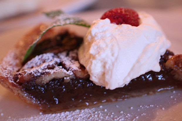 Bourbon Pecan Pie, Owen's Fish Camp, Sarasota FL