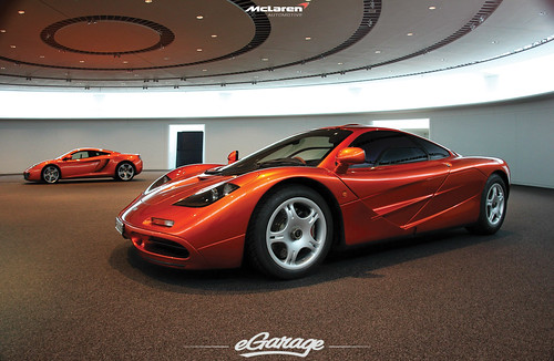 McLaren MP4-12C and McLaren F1 by eGarage.com