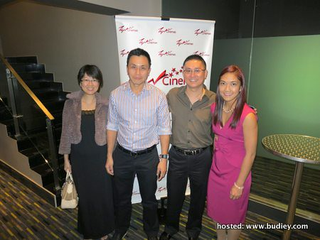 Choo Li Shen, Raymond Liew, Kenny Wong, Charlene Tan